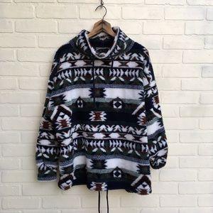 Vintage Fuzzy Southwest Cabin Sweatshirt